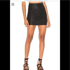 💥Free people💥leather skirt 🎁💕🌺